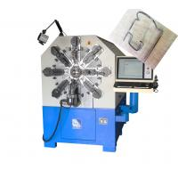 380V 50Hz 27KW Camless CNC Spring Machine For 1 - 4mm High Carbon Steel Manufactures