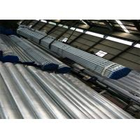 Stock Carbon Steel Round Galvanised Steel Tube For Building And Industry Manufactures