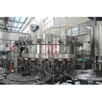 China 2000 - 6000BPH Carbonated Drink Filling Machine Counter Pressure Soda Bottling Equipment on sale