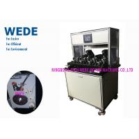 Quick Running Ceiling Fan Motor Winding Machine With Less Wire Delta HMI Manufactures