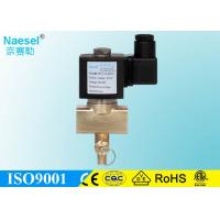 China Quick Shut Off Gas Solenoid Valve Normal Closed  1 / 2  - 2  Inch Size on sale