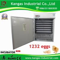 Fully Commercial Automatic Egg Incubator for 1232 Chicken Eggs Manufactures