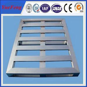 Mill Finished Industrial Aluminium Profile Aluminum Pallet 6063 aluminum alloy Manufactures
