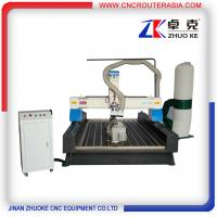 ZKM-1325B 4*8 feet mesa sink Wood Engraving Machine with stainless steel water slot Manufactures