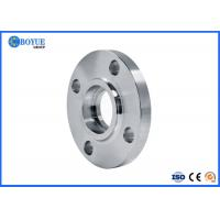 China RF FF RTJ Type Socket Weld Flange , Nickel Alloy Flanges ASTM B564 UNS N08031 on sale
