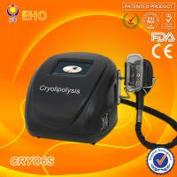 portable mini body cryolipolysis vacuum slimming machine with 1 handle Manufactures