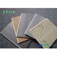 Wear Resisting Rigid Core Vinyl Plank Flooring Click System 0.3mm 0.5mm Wear Layer Manufactures