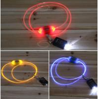Orange Silknet LED Flash Dog Lead Manufactures
