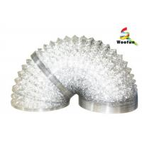 Hydroponics golden or silver flexible aluminum foil air duct for ventilation Manufactures