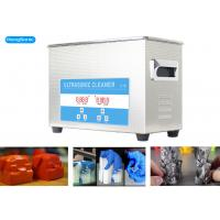 SUS304 Tank Industrial Ultrasonic Bath For 3D Printed Parts 40KHz 3200ml Manufactures