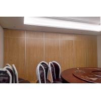Sound Insulation Hotel Sliding Partition Walls Floor To Ceiling Aluminium System Manufactures