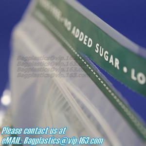 China zip lock bags grip seal, grip bag, zip grip, slider grip, reclosable, reusable, resealable on sale
