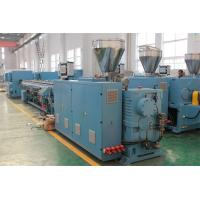 China 50 - 200mm Pipe Plastic Extrusion Machine SJSZ65 / 132 on sale