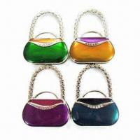 Purse Hooks, Suitable for Gifts, Promotional Items and Souvenirs, Customized Logos are Accepted Manufactures