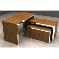 Brown Wood Display Table Easy Assembly , Durable Retail Display Nesting Table Manufactures