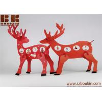 China wooden christmas decoration Desktop Decoration Christmas Creative Gifts Wooden deer ornament on sale