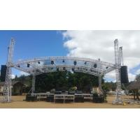 Highly Used Oudoor Event Aluminum Stage Lighting Truss With Canopy Manufactures