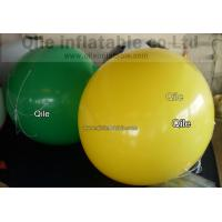 yellow  Large Helium Balloons Commercial Inflatable Products Helium Gas Balloon Manufactures