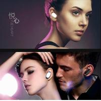 Yes or No Voice Answer 1 in 2 CVC6.0 Mini Wirelsee Bluetooth Headset mini j1 Manufactures