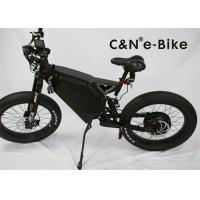 China 24 Inch Full Suspension Electric Fat Tire Mountain Bike 48v 500w Aluminum Alloy on sale