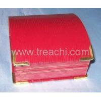 jewelry gift boxes jewelry boxes wholesale pendant boxes with metal coner Manufactures