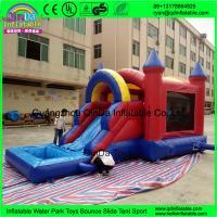 Quality 2017 hot inflatable jumping castle, playing castle inflatable bouncer, inflatable combo inflatable toy for sale