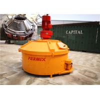 China Plastic Dry Concrete Counter Current Mixer 1800kgs Input Weight Low Noise Rotation on sale