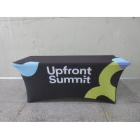 Full Printed Advertising Flag Banners Large Branded Table Cloth Manufactures