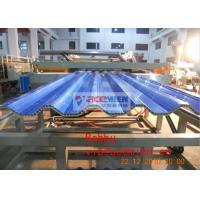 China Hollow PVC Roof SHeet Machine , Agricultural / Industrial Tile Roll Forming Equipment on sale