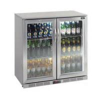 208L outdoor Stainless Steel Back Bar Cooler 2 swing glass doors (Sliding doors available too) Manufactures