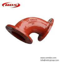 Quality BS EN545 ductile iron elbow pipe fitting for water for sale
