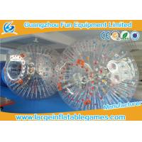 Bumper Soccer PVC Inflatable Zorb Ball For Ramp Zorbing / Grass , Hill Or Land Manufactures