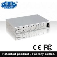 Multiple Display CCTV Color Quad Processor With IR Remote Controller Manufactures