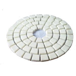 China Dry Concrete / Stone Diamond Polishing Pads For Polishing High Gloss on sale