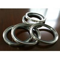 PTFE / PTFE SS Shaft Oil Seal With Single Or Double Lips For Air Compressor Manufactures