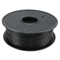 China Biodegradable Black PLA 3D Printer Filament  2.2 Pounds Weight  2 Years Warranty on sale
