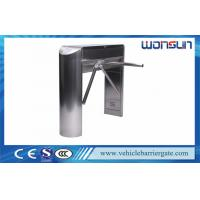 Electrical Turnstile Barrier Gate , Security Control Tripod Turnstile Gate Mechanical Manufactures
