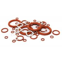 High Temperature Silicone O Rings Acid And Alkali Resistant , Lead Free Standard Manufactures