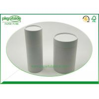 Well - Sealing Cylindrical Cardboard Tubes , Coffee Paper Tube Packaging Elegant Design Manufactures