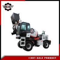 China 3.6 cubic meters self loading concrete mixer truck for sale with free spare parts provided on sale