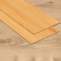 China Wood Look LVT Plank Flooring Tile Dry Back Inside Reinforced With 0.7mm Wear Layer on sale