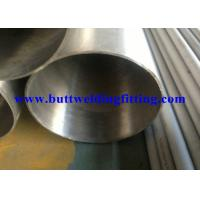 ASTM A554 ERW 316L Spiral Welded Steel Pipe Round Shaped With Painted Surface Manufactures