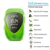 015 go everywhere smart wrist watch gps personal tracker for kids/old people with sos call Manufactures