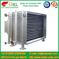 Heat Preservation CFB Boiler Natural Gas Air Preheater APH 260MW Station Preheater Manufactures
