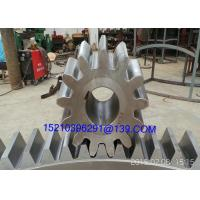 Large Diameter Steel Arc Bevel Gears Shaft With Casting / Forging / Machining Manufactures
