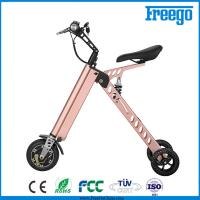 P Moped Three Wheel Electric Scooter With Seat 500W Hub Motor withkey Manufactures