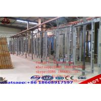 Concrete Lightweight EPS Wall Panel Forming Machine GRG / GRC Board Making Manufactures
