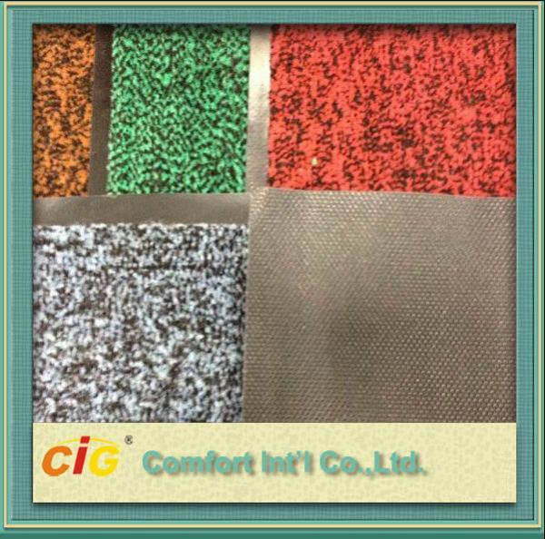 Quality Multicolor Decorative Flame Retardant Carpet Fabric For Hotel / Home for sale