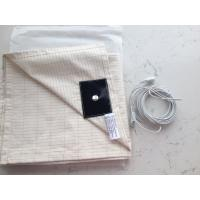 EMF safety silver fiber conductive grounding sheets for bed antimicrobial antistatic Manufactures