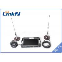China Police military security surveillance HD Wireless Transmitter , AES 256 cofdm video transmitter receiver on sale